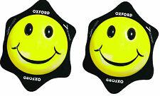 OXFORD COPPIA SAPONETTE TUTA MOTO PROTEZIONE SMILE FACCINA NERE PISTA STRADA