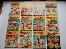 x12 VINTAGE DANDY Comic Library No 40-51 1984-85 British Comics Libraries Laugh