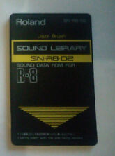 "Roland SN-R8-02 Sound Data ROM Card for R-8 / R8M  ""Jazz Brush"""