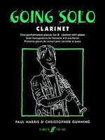 Going Solo: Clarinet - First Performance Pieces for Bb Clarinet & Piano BOOK