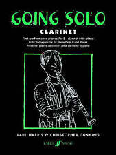 Going Solo Clarinet & Piano First Performance Book by Harris & Gunning B25