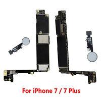 Motherboard Main Logic Board w/ Touch ID For iPhone 7 / 7 Plus 32GB 128GB Unlock