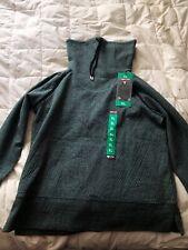 Kirkland Women's Jacquard Pullover Sweatshirt - XL - Green