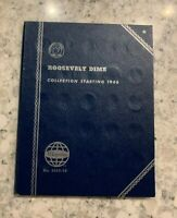 Roosevelt Silver Dime Collection 1946 Whitman Folder No. 9029:39 w/ 14 Dimes