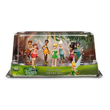 New Official Disney Tinkerbell Faries 7 Figurine Playset