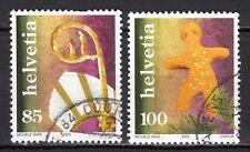 Switzerland - 2005 Christmas folklore -  Mi. 1947-48 VFU