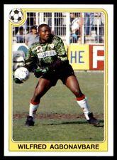 Panini Futbol 92-93 (España) Wilfred Agbonavbare no. 52