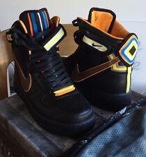 Rare Nike Air force 1 Riccardo Tisci RT High QS Black Orange White 9.5 Lab Dunk