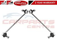 FOR VOLVO S60 S80 V70 XC70 XC90 FRONT GENUINE DELPHI ANTI ROLL BAR LINKS PAIR