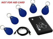 USB 125Khz RFID EM4305 T5567 Card Reader/Writer Copier/Writer programmer burner