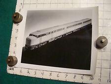 Will Gerth's ORIGINAL 8 x 10 photo: TRAIN DESIGN angle #2
