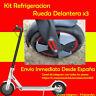 XIAOMI Mijia M187 / M365 / PRO - Kit Refrigeración Rueda Delantera - 3x Piezas