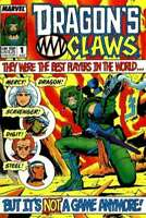 Dragon's Claws #1 in Near Mint minus condition. Marvel comics [*sc]