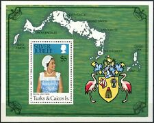 Turks & Caicos Is. 1977 SG#MS475 Silver Jubilee MNH M/S #D87563