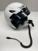 HJC CL-31 Open Face Motorcycle Helmet SNELL DOT Approved White XL