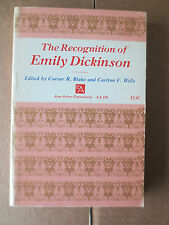 The Recognition of Emily Dickinson PB edited by Caesar R Blake & Carlton F Wells