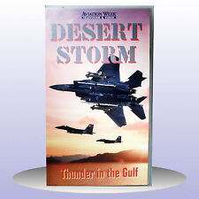 Desert Storm Thunder in The Gulf Aviation War Video F-15 Apache - VHS PAL - NEW