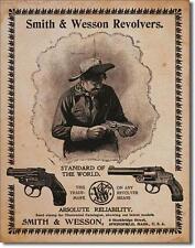 Smith & Wesson Selvaggio West REVOLVER USA Vintage Retrò Design metallo scudo