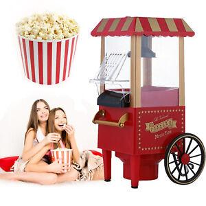 1 Tlg Popcorn Maschine Popcornmaker Profi Retro Maschine Maker Popcornautomat