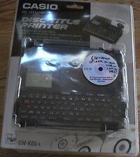 Casio CW-K85 CD/DVD Thermal Printer