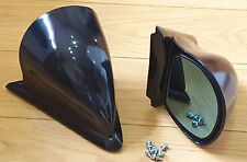 Ford Colour Coded Deep Navy Blue SportKa KA DTM Door Wing Mirrors + Base Plates