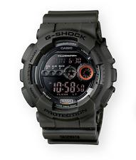 Casio G-Shock XL Analog Digital Matte Green Watch GD100MS-3 MUST HAVE!