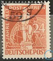 Berlin 1949 Stephan gestempelt Mi.Nr:37 rechts letztes Zahnloch fehlt