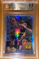 2000 Magic Johnson TOPPS CHROME Cards That Never Were REFRACTOR #MJ2 BGS 9.5 PSA