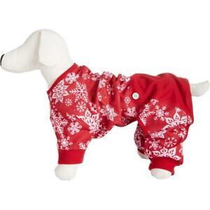Family PJs Red Holiday Christmas Pet Dog Pajamas S BHFO 9103