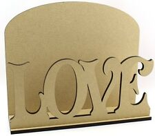 Correo carta de amor compromiso boda día de San Valentín Post Rack Mdf Presente Idea de Regalo