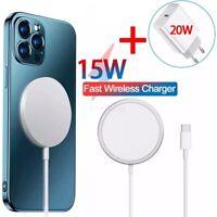 Chargeur Magsafe QI Magnétique Sans Fil iPhone 12/12Mini/12Pro/12ProMax 15W Neuf