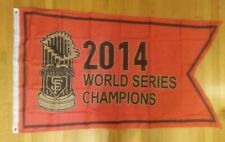 San Francisco Giants 2014 World Series Champions 3x5 Flag - NEW