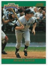 MICKEY MANTLE 1992 SCORE THE FRANCHISE INSERT #2 YANKEES HOF