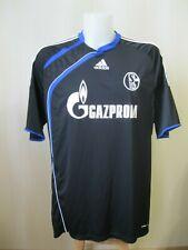 FC Schalke 04 2009/2010 Third Sz 2XL soccer Adidas shirt jersey football XXL 3rd