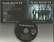 PLAIN WHITE T'S Should've Gone to bed w/ TOM & TIM Song Intro PROMO DJ CD single