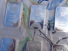 1 oz. Sunshine Silver Eagle art bars .999 fine silver sealed MintMark SI