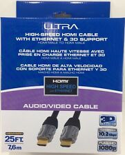 Ultra - U12-41583 - High-Speed 25FT HDMI Cable with Ethernet