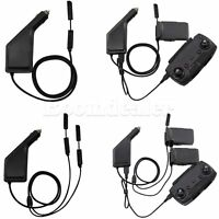 3 in 1 Car Charger Adapter Charging Hub for DJI Mavic Air Remote Control+Battery