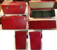 45 RPM Single Storage Case vinyl record box double wide accessories