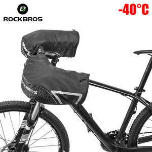 Bicycle Handlebar Mitts Cold Weather Mittens Mountain Commuter Bike Bar Covers