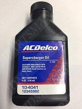 Supercharger Oil 4oz. Bottle Mini Cooper S r53 r52 new AC Delco - 10-4041