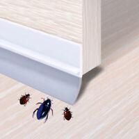 Under Door Sweep Weather Stripping Door Bottom Seal Strip Draft Wind Stopper New