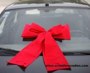 Riesenschleife,50 cm,Große Autoschleife, grosse Schleife für Riesenpaket, rot,
