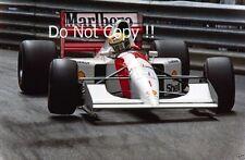 Ayrton Senna McLaren MP4/7A Winner Monaco Grand Prix 1992 Photograph 1