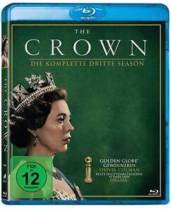 The Crown - Die komplette dritte Season [4 Blu-ray's/NEU/OVP] Jahre 64 -67