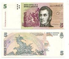 Argentina  5 pesos 2003  FDS UNC   Pick 353  rif  2516