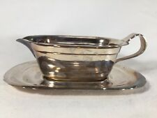 Vintage Reid and Barton Mayflower 5000 Gravy Boat and Tray