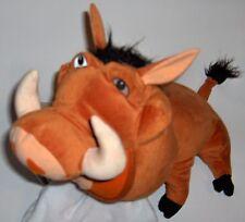 Disney Lion King  PUMBA Plush Stuffed Animal  by:Hasbro