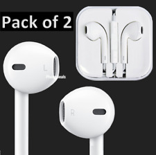 2x 3.5mm Earphones Headphones with Mic For Smartphone Earbuds Headset
