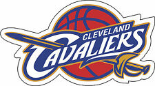 "Cleveland Cavaliers NBA Baloncesto Calcomanía Decoración De Pared Etiqueta de vinilo, 5""x 3"""